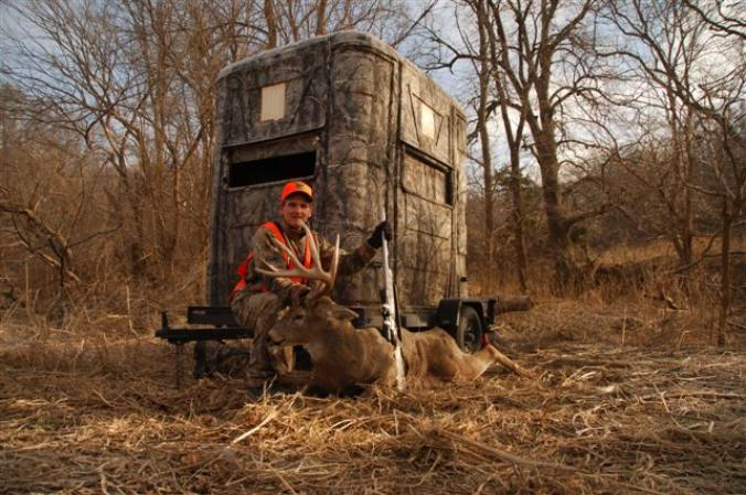 Deer Blinds Portable Blinds Deer Stands Ground Blinds