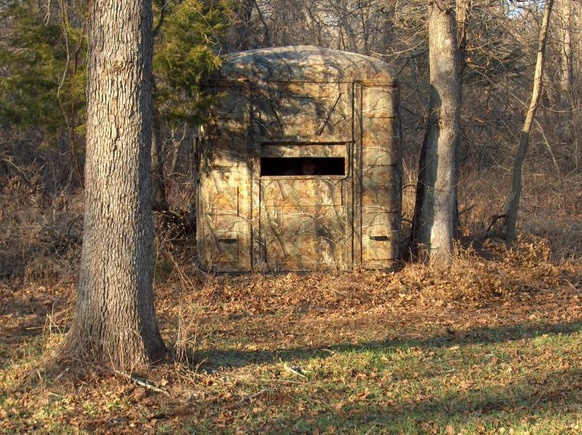 blinds deer free ground plans hunting blind