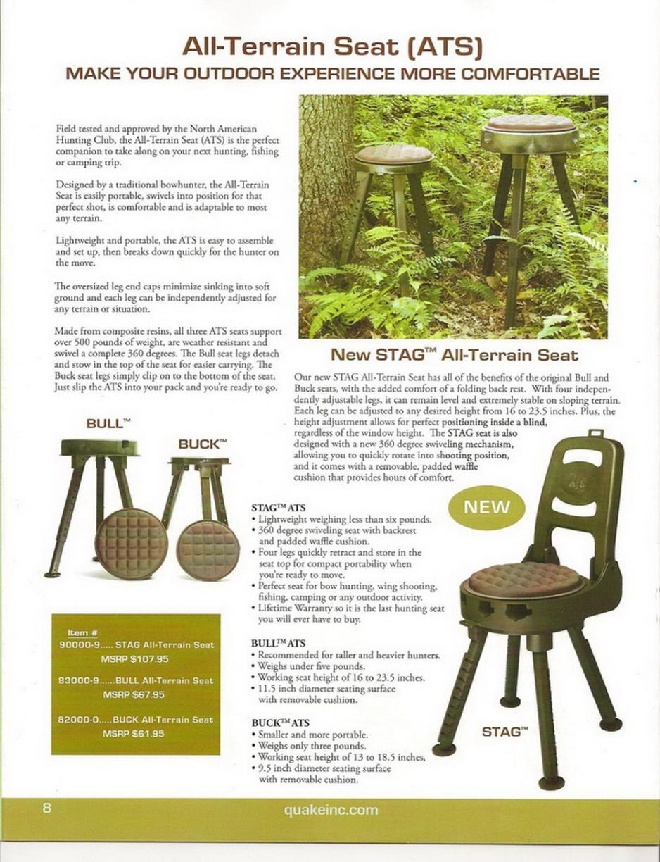 Deer Blinds Hunting Chairs Stands Stools Seats Handicap