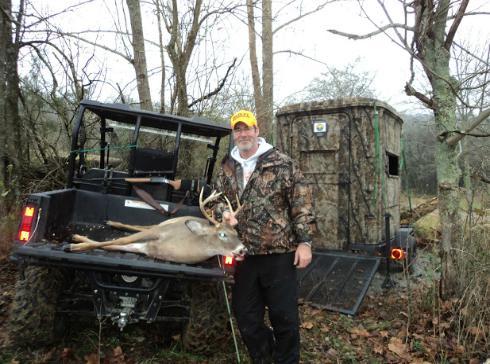 handicap,disabled,deer blinds,portable deer stands,hunting blinds
